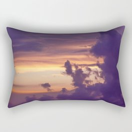Lilac Sunset Rectangular Pillow