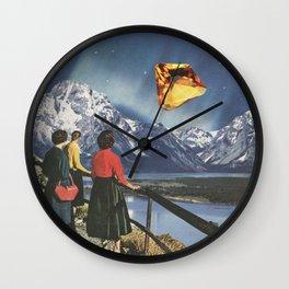 Citrine Sky Wall Clock