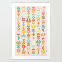 TUTTI FRUITTI Art Print