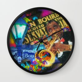 Maison Bourbon Wall Clock