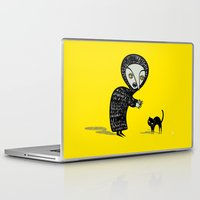 witch Laptop & iPad Skins featuring Witch by Viva la!