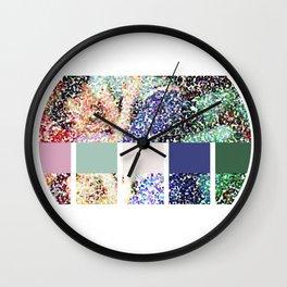 Coloring Fantasies Wall Clock