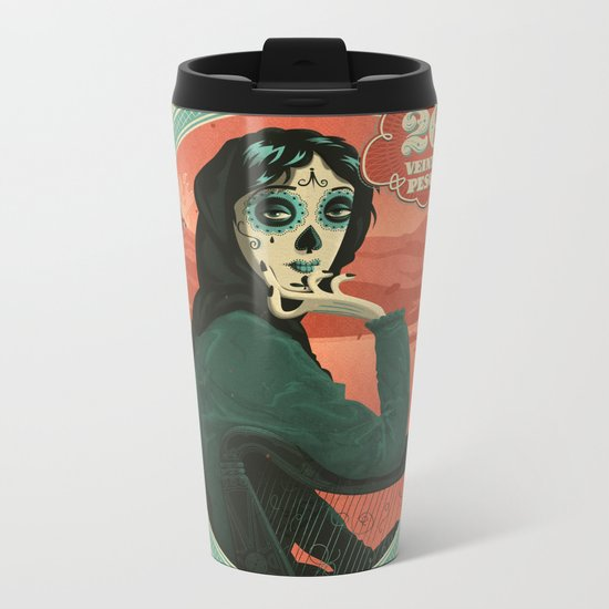 Señora Lavery Metal Travel Mug