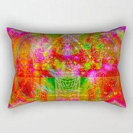Citrus Cherry Blastoff Into Space I Rectangular Pillow