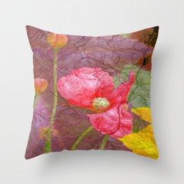 The last Poppys 1 Throw Pillow
