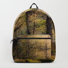 Misty Solitude, The Way Through The Woods Backpack