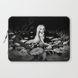 Woman in the water Laptop Sleeve
