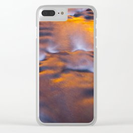 River Water I Clear iPhone Case