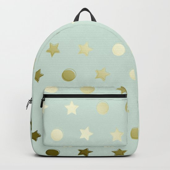 Gold Confetti Backpack