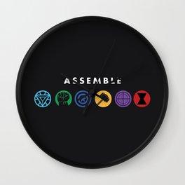 Assemble Wall Clock