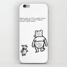 Pooh and Piglet iPhone Skin