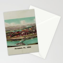 Pittsburg, Pennsylvania (1904) Stationery Cards