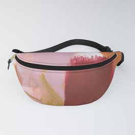 Abstract Brush Strokes 40 Fanny Pack