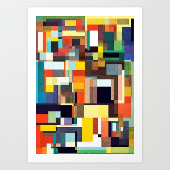 The City I Live In Art Print