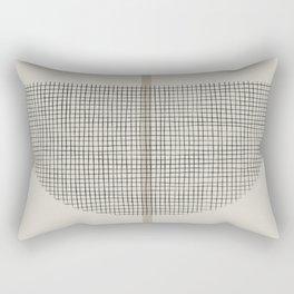 Geometric Composition III Rectangular Pillow