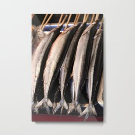 Fish Stick Metal Print