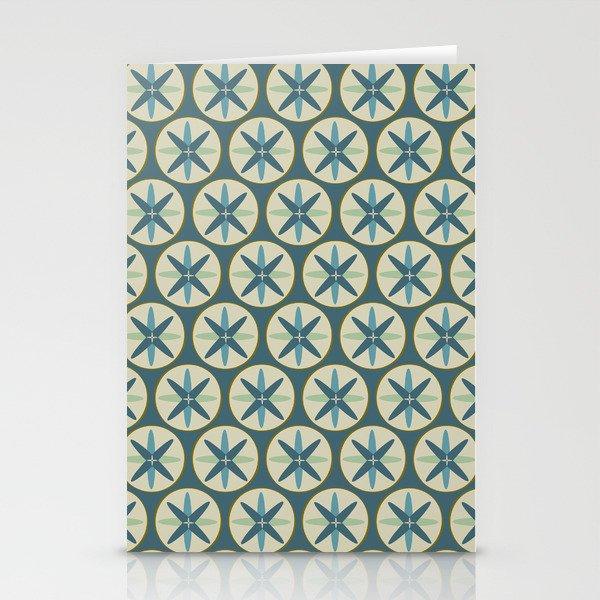 Blue Sand Dollar Stationery Cards