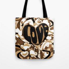 Cabsink16DesignerPatternShadowsOfLove Tote Bag