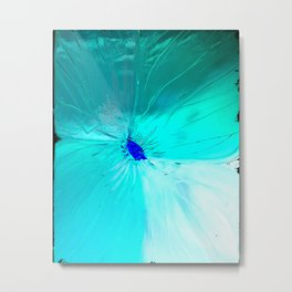 Negative Bloom Metal Print