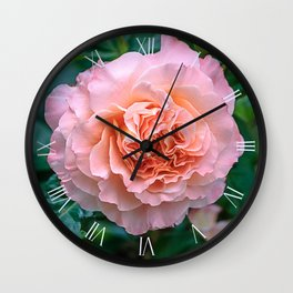 Beauty of a rose Wall Clock