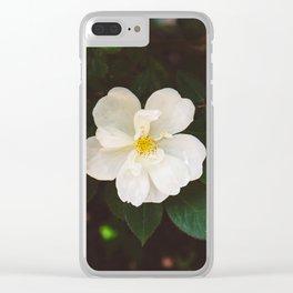 Manhattan Bloom Clear iPhone Case
