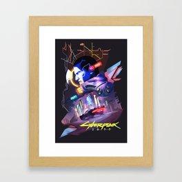 CyberPunk 2077 Framed Art Print