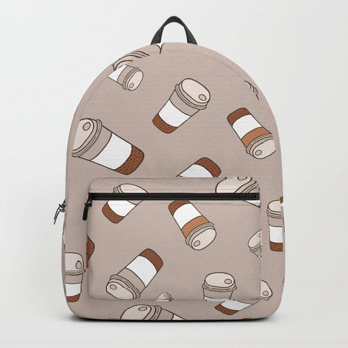 Coffee pattern Backpack