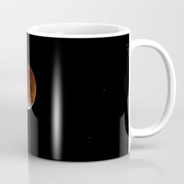 Earth in space, Galaxy | Comforter Coffee Mug