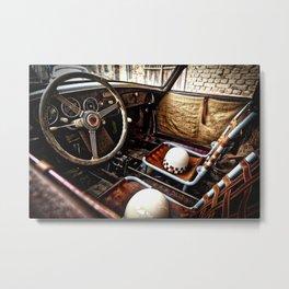 Cockpit Metal Print