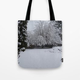 Powdered Water Tote Bag