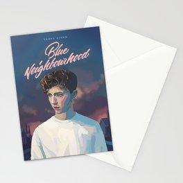 Blue Neighbourhood Stationery Cards