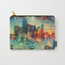 Atlanta New by Nico Bielow Carry-All Pouch