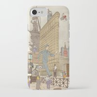 literary iPhone & iPod Cases featuring St. Petersburg Literary Map by Ilya Merenzon