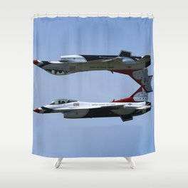 Inverted Shower Curtain