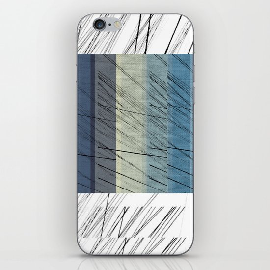 Blues Arrangement iPhone & iPod Skin