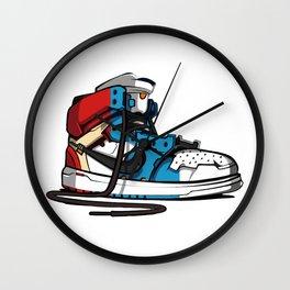 AJ1 evolution Wall Clock