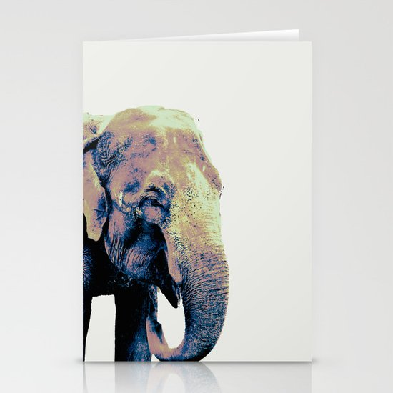 """""""E"""" Is For Eventually : The Elephant Never Forgets Stationery Cards"""