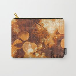 Psychedelic Abstract Bokeh And Flares Carry-All Pouch