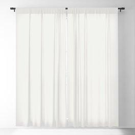 Neutral Off-white Ultra Pale Gray Solid Color Parable to Valspar Du Jour 7002-6 Blackout Curtain