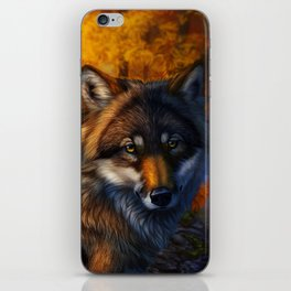 Hidden Among Leaves iPhone Skin