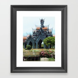 The Ancient City Framed Art Print