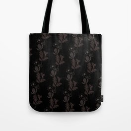 Oak & Hellebore Pattern Tote Bag