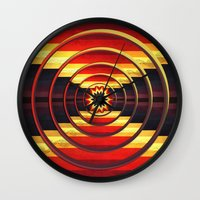 focus Wall Clocks featuring Focus by DebS Digs Photo Art