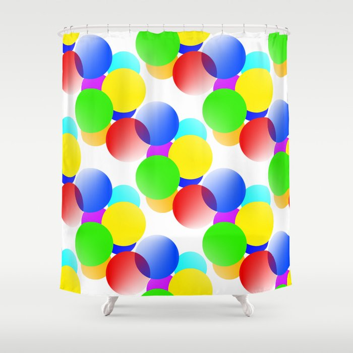 Gen X 2020 Dots Collection Shower Curtain
