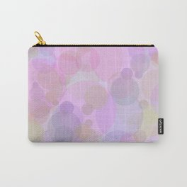 Pink Bubbles Pattern Carry-All Pouch