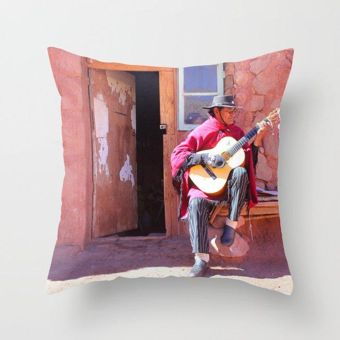 Pueblo de Machuca Throw Pillow