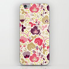 Summer Floral iPhone Skin