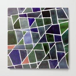 Mirror Patterns Metal Print