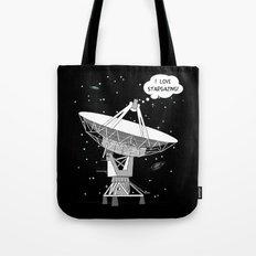 I love stargazing! Tote Bag