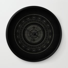 Inner Space 6 Wall Clock